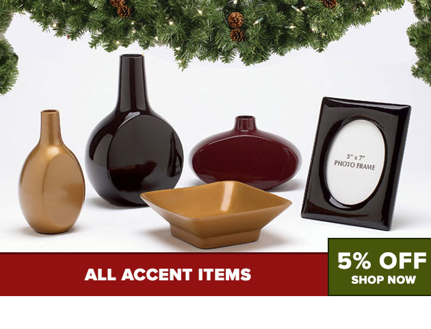Accents 5% Off